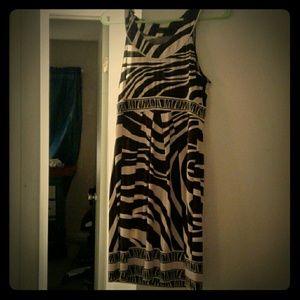 Bcbg maxazria maxi knee length dress